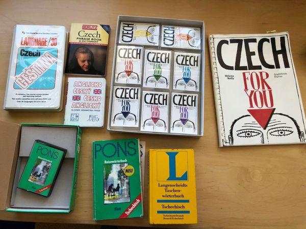 Tschechisch-Lernbücher