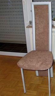 4 Stühle Esszimmerstühle Essgruppe mit