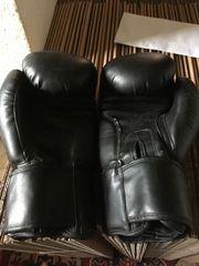 3 paar Leder- Boxhandschuhe