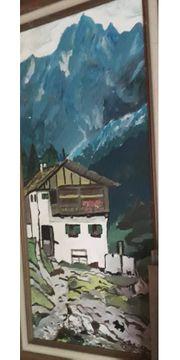 Schönes Gemälde Das Haus in