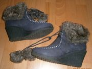 Stiefel Boots Ballerinas - getragen und