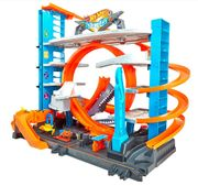 Hot Wheels Parkgarage mit Hai