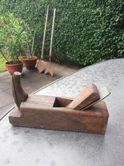 ALTER Holz Handhobel altes Werkzeug