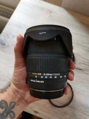 Sigma 18-200mm F3 5-6 3