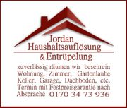 Haushaltsauflösung Entrümpelung Rhein-Main