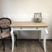 Weisser Schreibtisch kleiner Sekretär Schublade