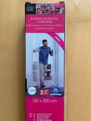 Klemm-Lamellen-Vorhang Insektenschutz