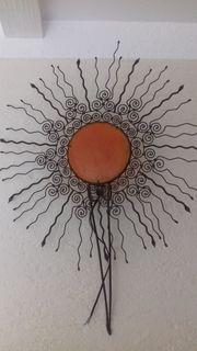 Wandlampe Sonnenlampe schmiedeeisen