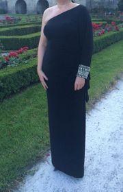 Gr 14 One-Shoulder-Abendkleid TERANI Couture