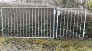 Gartentor Einfahrtstor verzinkt 300cm