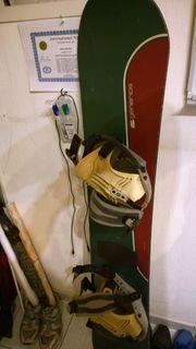 Snowboard komplett - Board Boots Tasche