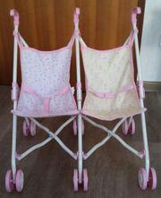 Kinderzwillingspuppenwagen von Baby Born