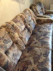 Sofa mit 2 Sessel und