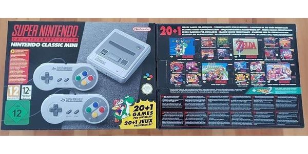 SNES Mini Super Nintendo Classic