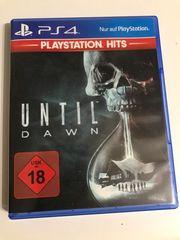 Until Dawn PS4 - neuwertig einmal