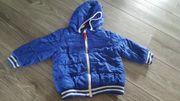 blaue jacke gr 86 von
