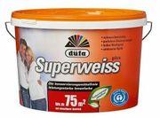 Wandfarbe K414 Superweiss KF 10