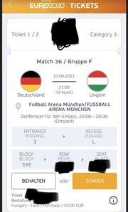 Deutschland Ungarn Tickets