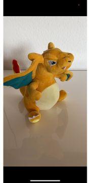 Pokemon Glurak Plüschtier Stofftier Kuscheltiere