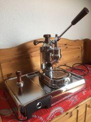 La Pavoni mit Original Grundplatte