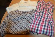 3 Stück Blusen Hemden Gr