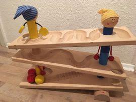 Holzspielzeug - HABA Kugelbahn Kullerei