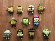 SpongeBob Schwammkopf Spielfiguren 11Stk