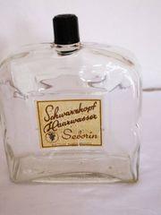 Alte und seltene Flasche Schwarzkopf