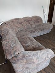 Sofa mit Sessel