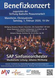2 Tickets SAP Sinfonieorchester Mannheim
