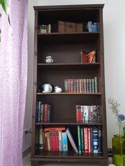 2 Regale Wohnzimmerregale schwarzbraun