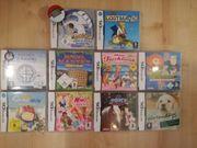 verschiedene Nintendo Spiele