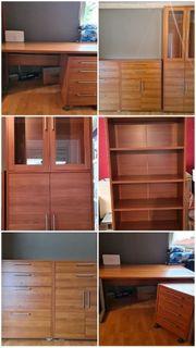 Hochwertige gebrauchte Büro Möbelset