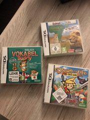 Nintendospiele drei zusammen oder einzeln