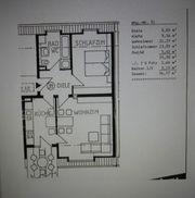 2 Zimmer Wohnung mit Dachbalkon