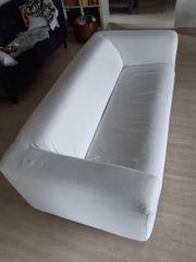 Ikea Sofa Klippan mit weißem