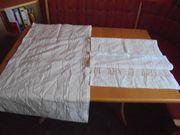 2 Stück Schiebegardinen- Flächenvorhang weiß