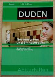 Biologie-Buch - Nervensystem und Sinnesorgane - für