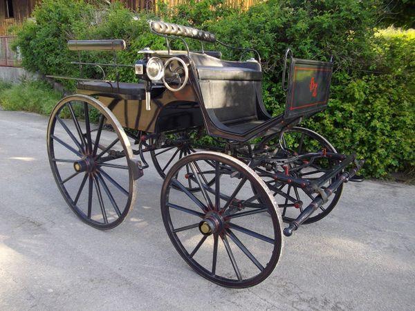 Sehr schöne leichte Wagonette