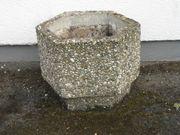 Pflanzkübel aus Waschbeton