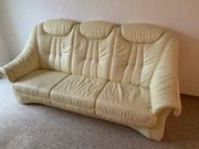 Ledercouch Echtleder Couch Sofa 3