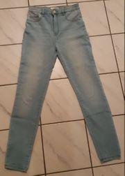 Jeans blau Gr 36 pull