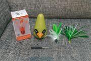 Katzenspielzeug vibrierender Vogel - Ostergeschenk