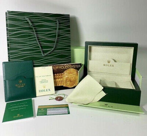 Rolex Holzbox FULL SET Luxus
