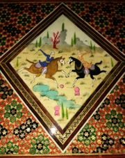 iranisches Backgammon Dame Spiel