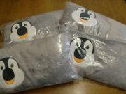 4 Stück Kleine Kissen Pinguin