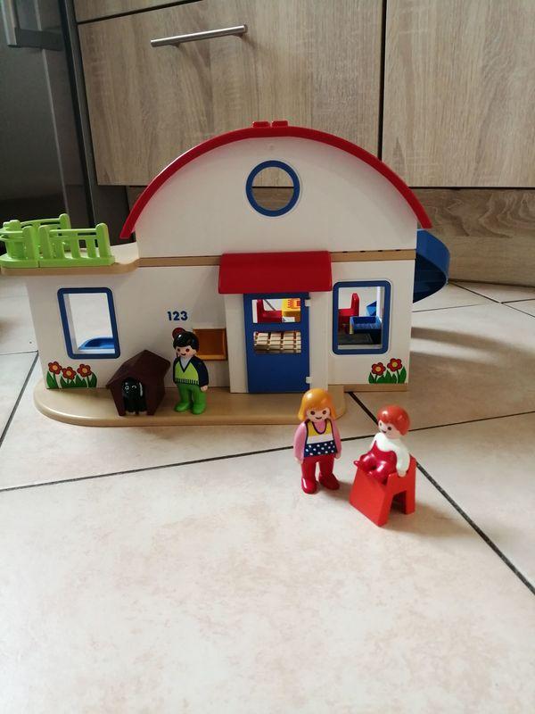 123 Playmobil Wohnhaus