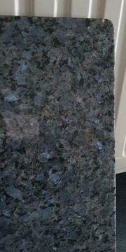 Blaue Granitplatte NEU 40 46