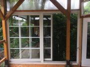 Schiebefenster Element 2 teilig