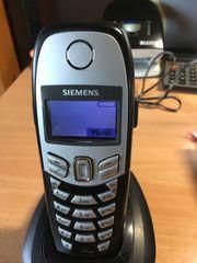 4 Schnurlose Siemens Telefone